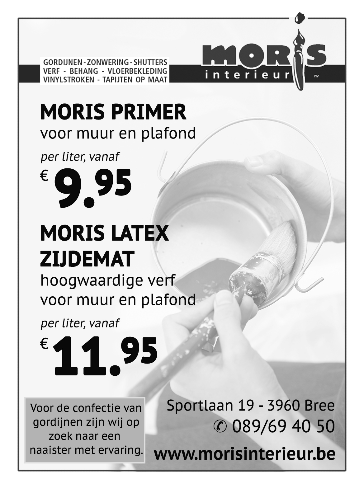 Moris Primer - Moris Latex zijdemat